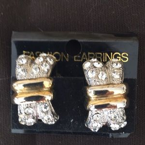 Custom Diamond & Gold Earrings